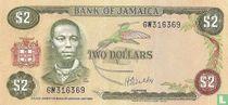 Jamaica 2 Dollars ND (1976/L1960)