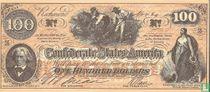 Confederate States 100 Dollar
