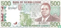 Sierra Leone 500 Leones 1991