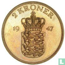 Denemarken 2 kroner 1947