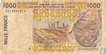 West-Afrikaanse staten 1000 Francs 1995
