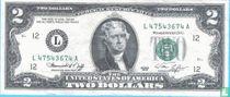 Verenigde Staten 2 dollars 1976 L