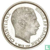 """Denemarken 2 kroner 1912 """"Dood van Frederik VIII en de toetreding van Christian X"""""""