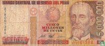Peru 5.000.000 intis 1990