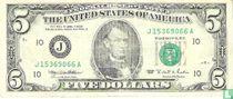 Verenigde Staten 5 dollars 1995 J