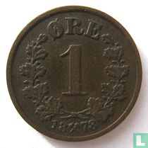 Norwegen 1 Øre 1878