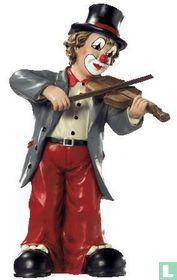 Gilde clown de vioolspeler