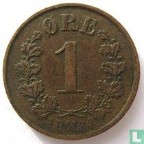 Norwegen 1 Øre 1884