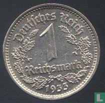 Duitse Rijk 1 reichsmark 1933 (G)