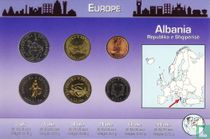 "Albania combination set ""Coins of the World"""