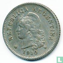 Argentinië 10 centavos 1910