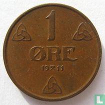 Norwegen 1 Øre 1911