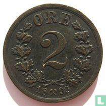 Norwegen 2 Øre 1893