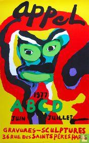 'ABCD', lithografisch affiche, 1977