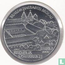 """Oostenrijk 10 euro 2008 (Special Unc) """"Seckau Abby"""""""