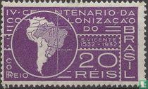 Land Karte Südamerika