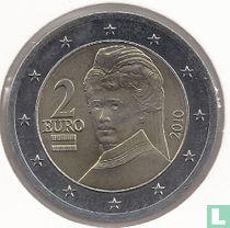 Austria 2 euro 2010