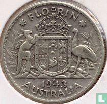 Australië 1 florin 1943 (S)