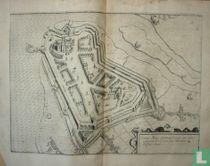 Ciuitas Mons Geertrudan sicuti erat dum occuparet ab excellen: sua Mauritio de Nassau Anno.