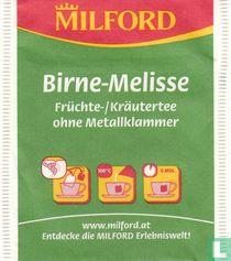 Birne-Melisse