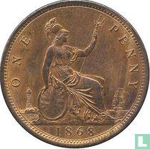 Verenigd koninkrijk 1 penny 1868