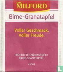 Birne-Granatapfel