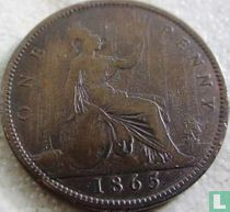 Verenigd koninkrijk 1 penny 1865