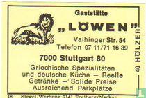 """Gaststätte """"Löwen"""""""