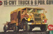 15 CWT Truck & 6 PDR Gun (CMP)