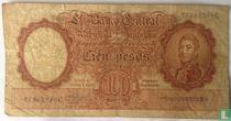 Argentinië 100 Pesos 1957