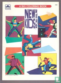 New Kids on the Block - A Big Coloring Book