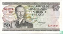 Luxembourg 50 Francs (P55b)