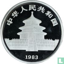 "China 10 yuan 1983 (PROOF) ""Panda"""