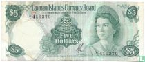 Kaaimaneilanden 5 dollar