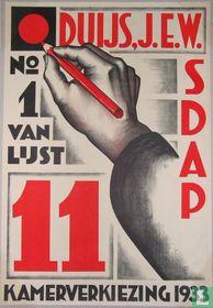 Kamerverkiezing 1933 S.D.A.P.