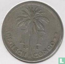 Belgisch-Kongo 1 franc 1922 (NLD)
