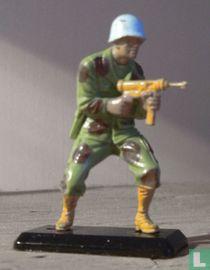 UN soldaat ( blauwhelm)