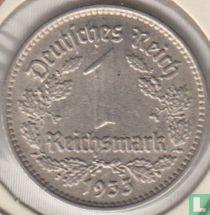 Duitse Rijk 1 reichsmark 1933 (F)