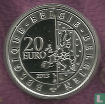 """Belgium 20 euro 2013 (PROOF) """"Changing of the guard"""""""