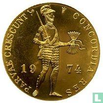 Nederland 1 dukaat 1974 (PROOFLIKE - muntslag)
