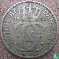 Denemarken 2 kroner 1936
