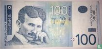 Servië 100 Dinara 2012