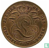 België 5 centimes 1857