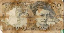 France 50 francs 1991