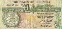 Guernsey 1 pound 1970