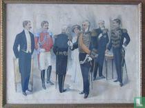 De Nederlandsche Ambtsgewaden en de Uniformen van het Nederlandsche Leger. Plaat 4