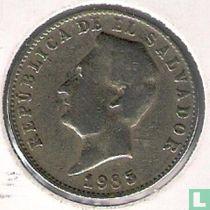 El Salvador 10 centavos 1985