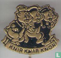 Knir, Knar Knor [zwart]