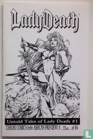Untold tales of Lady Death Ashcan Preview