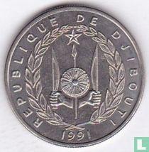 Djibouti 50 francs 1991